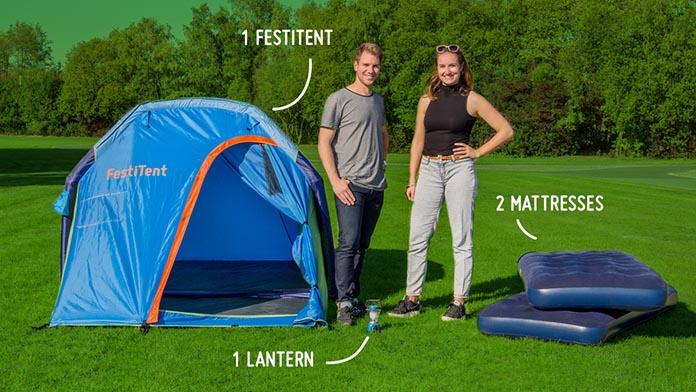 FestiTent 2P Easy-Relax