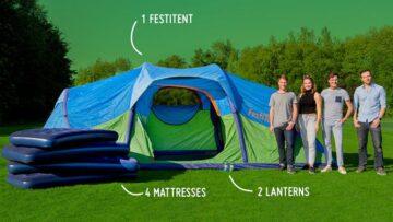 FestiTent 4P Easy-Relax