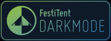 FestiTent DARKMODE logo